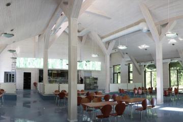 Столовая на 120 посадочных мест на базе отдыха «Золотой якорь», Удмуртия