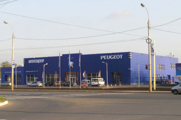 Автосалон Peugeot, г.Ижевск